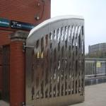 Porten til Annettes studiested