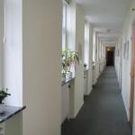 Gangen ved værelserne