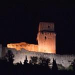Rokka Maggoria i Assisi - udsigt fra klosterets altan