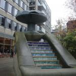 Der er mange vand skulpture