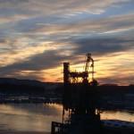 De næste billeder er taget fra båden